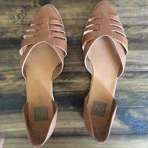 Slide on sandals